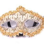 Máscara Elegância Dourada