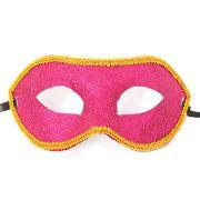 Máscara Veneziana Glitter com Borda Cores Sortidas