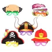 Óculos Máscara Bombeiro, Pirata, Viking e outros