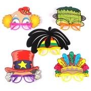 Óculos Máscara Frankenstein, Tio Sam e outros