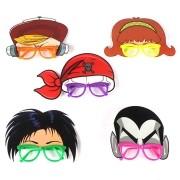 Óculos Máscara Vampiro, Bandana Pirata e outros