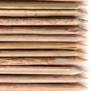 Palito para Churrasquinho Bambu 24cm com 50 unidades