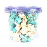 Pipoca Colorida Doce Azul e Branca 30g