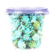 Pipoca Colorida Doce Azul e Verde 30g