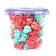 Pipoca Colorida Doce Azul e Vermelha 30g