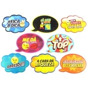 Placas Animadas Mix 2 (8 Unidades)