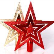 Ponteira Plástica Estrela 20cm - Diversas Cores