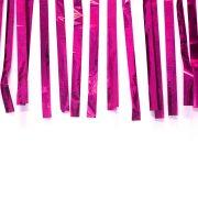 Varal de Fitas Metalizadas Pink - 10 Metros