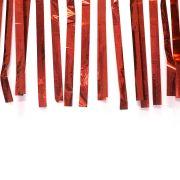Varal de Fitas Metalizadas Vermelho - 10 Metros