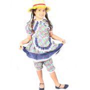 Vestido Infantil Gracinha Com Bermuda