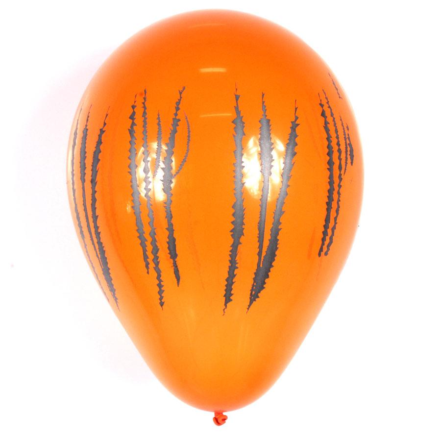 Balão Balloontech Safari Tigre Nº 10 C/25Un
