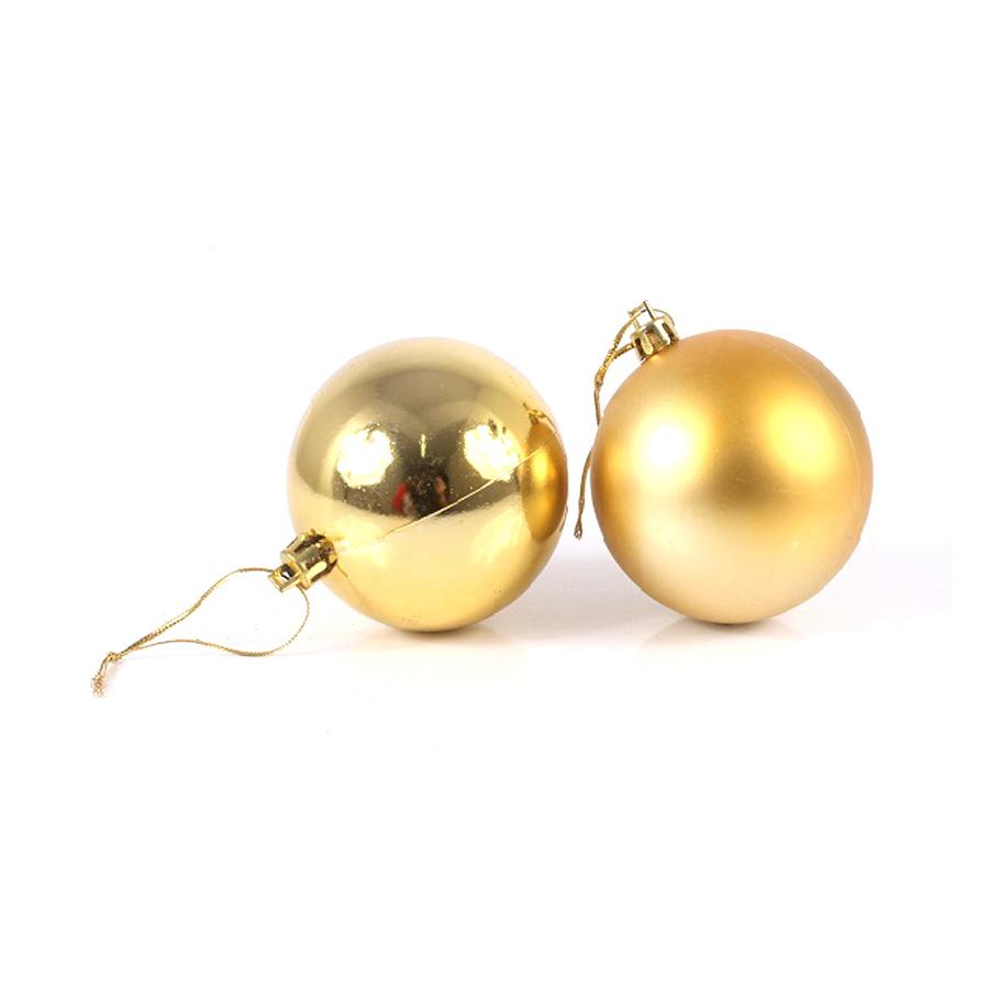Bola Lisa Pacote C/6 Dourada