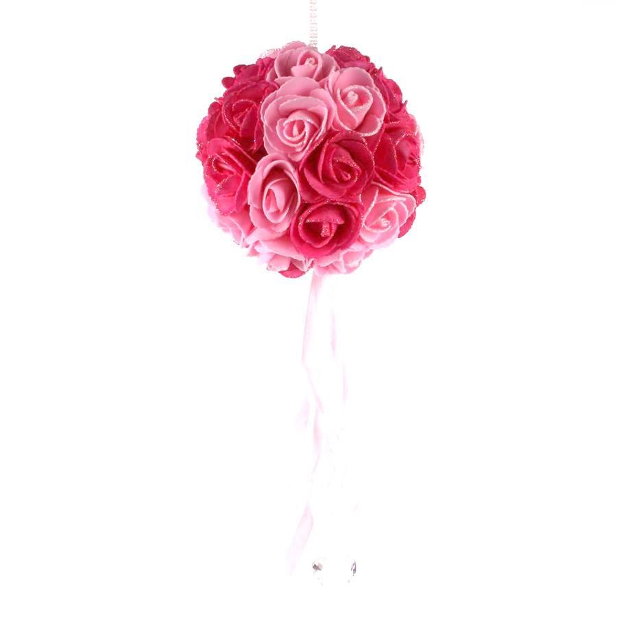 Buquê De Rosas Pink E Rosa Unidade