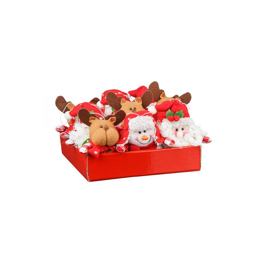Caixa De Bonecos Sortidos Para Pendurar Candy Com 12 Unidades