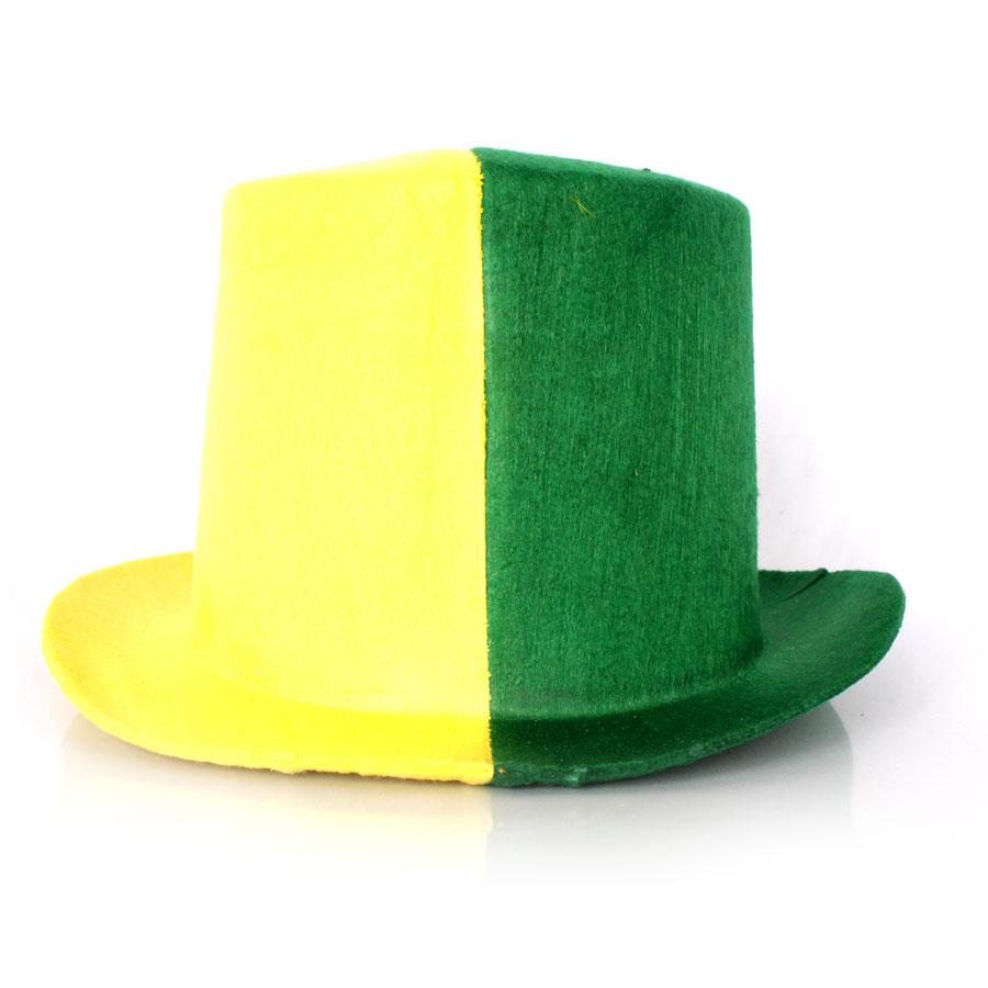 Cartola Mágico Verde e Amarela