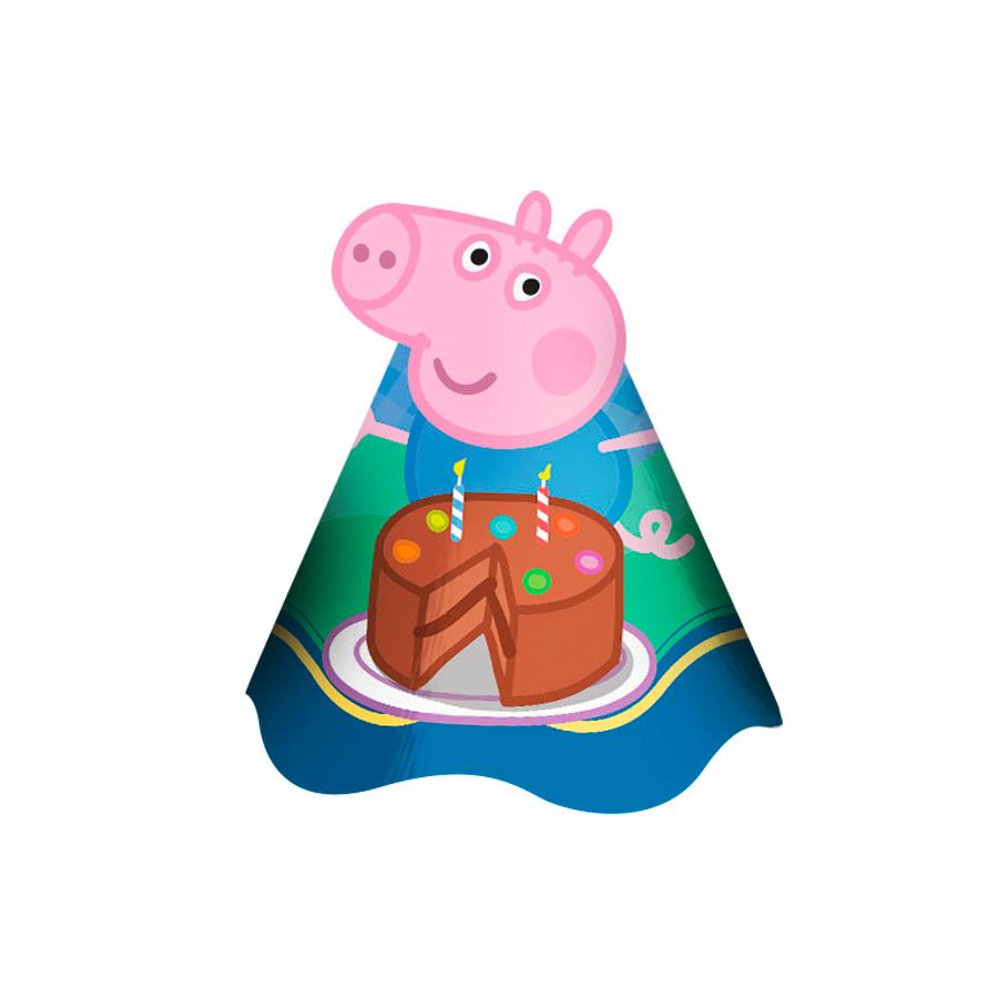 Chapéu Aniversário George 8Un