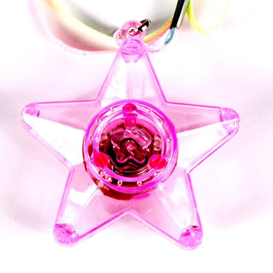 Colar Pisca Estrela Do Céu Transparente