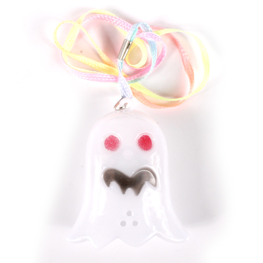 Colar Pisca Fantasma Branco