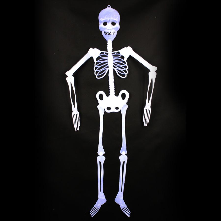 Esqueleto Decorativo de Halloween - Branca