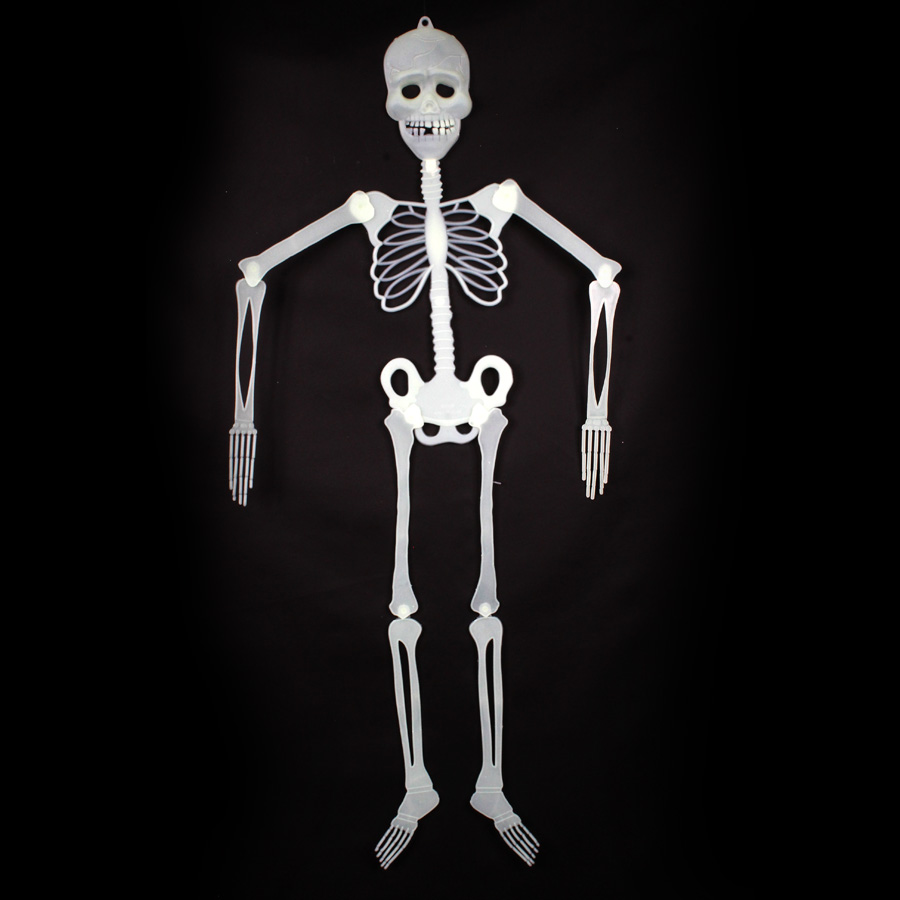 Esqueleto Decorativo de Halloween - Brilha no Escuro