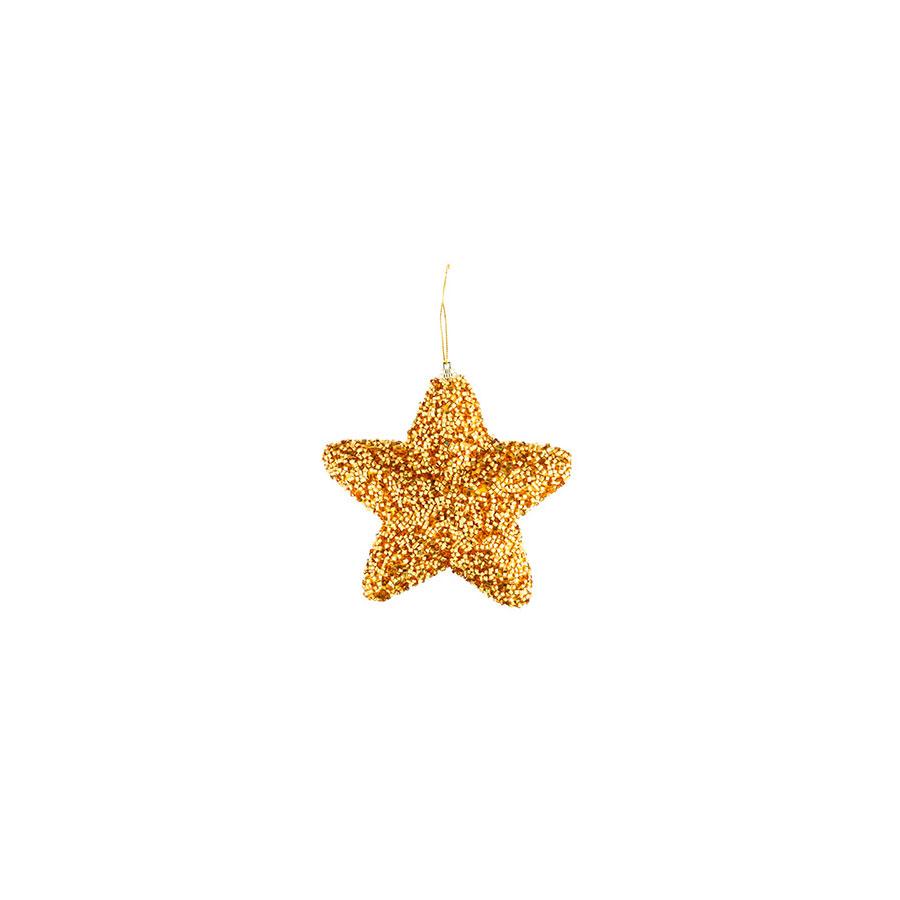 Estrela Canutilho Dourada Luminare Unidade