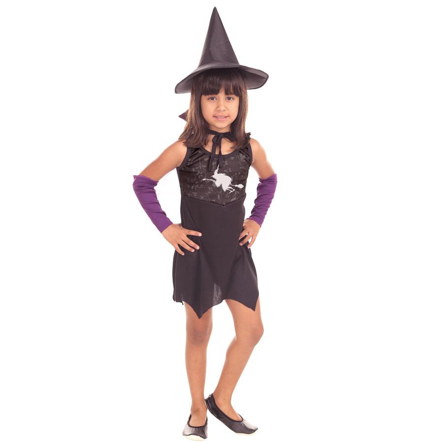 Fantasia Infantil Bruxa Carmen