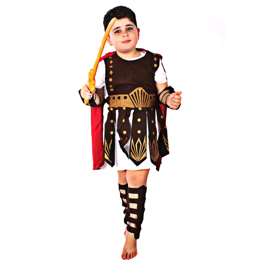 Fantasia Infantil Gladiador