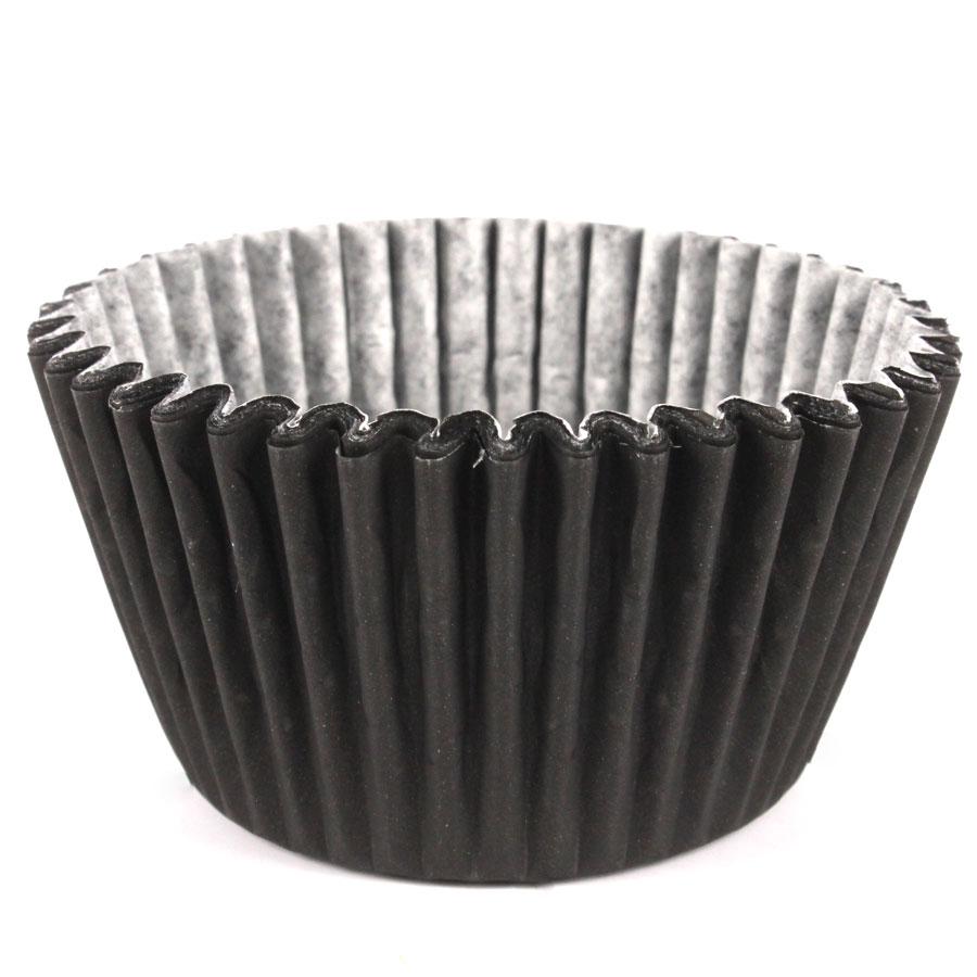 Forminha Cupcake Preto 45Un