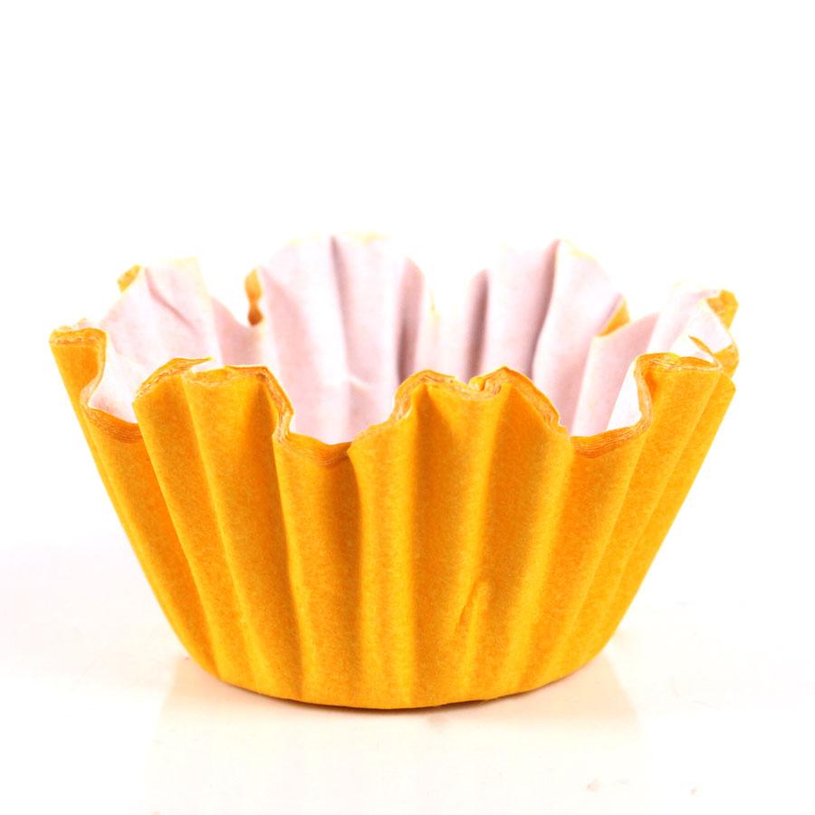 Forminha Flor Nº6 Amarelo 100Un