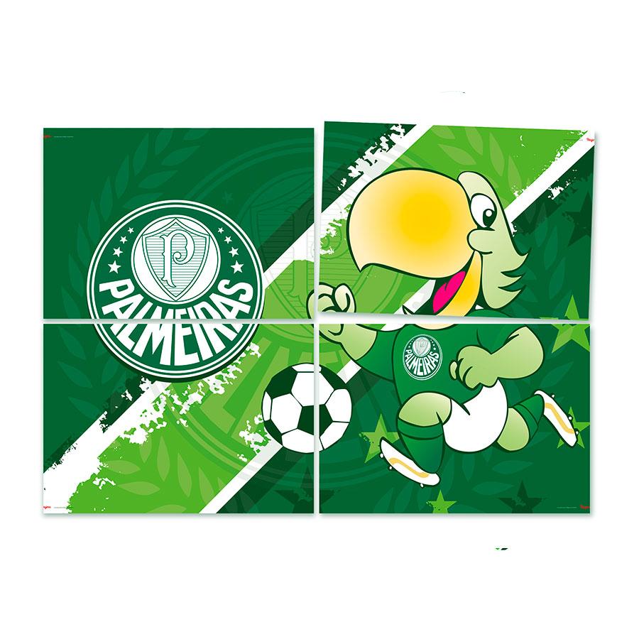 Painel Decorativo 128X88 Palmeiras