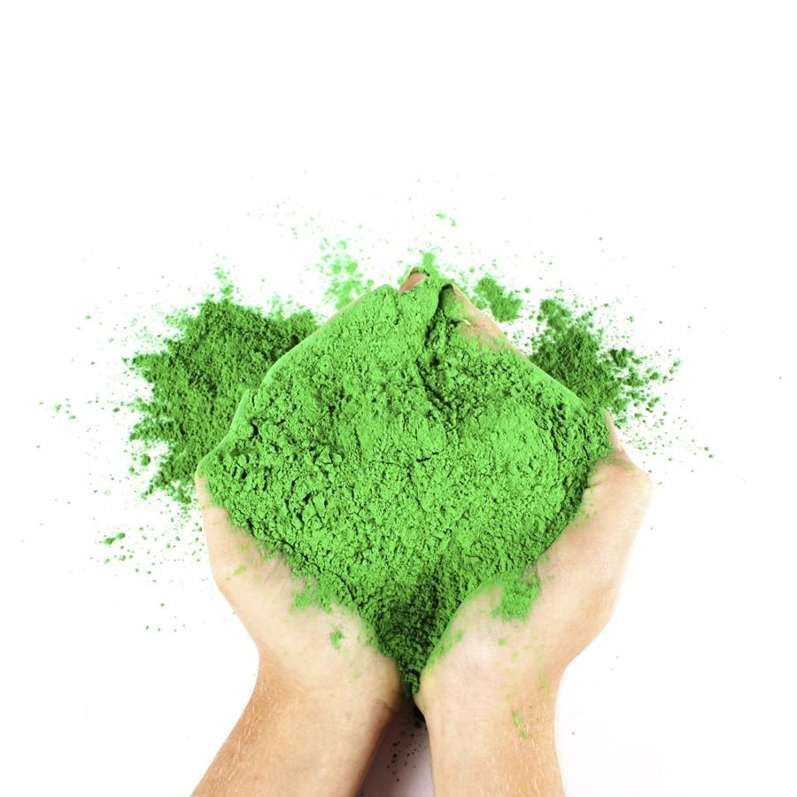 Pó Colorido Para Festas Holi - Verde