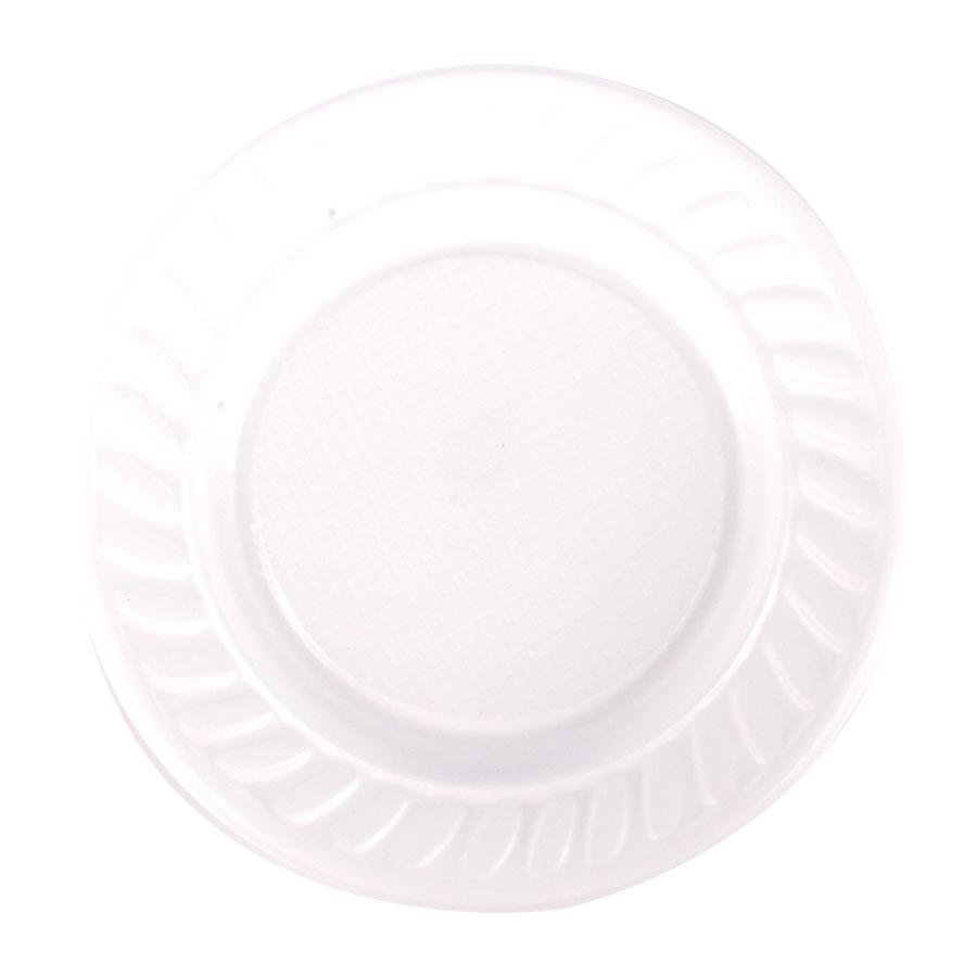 Prato Descartável 15Cm 10Un Branco