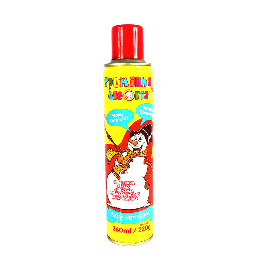 Spray Espuma Neve Artificial 330Ml Para Carnaval