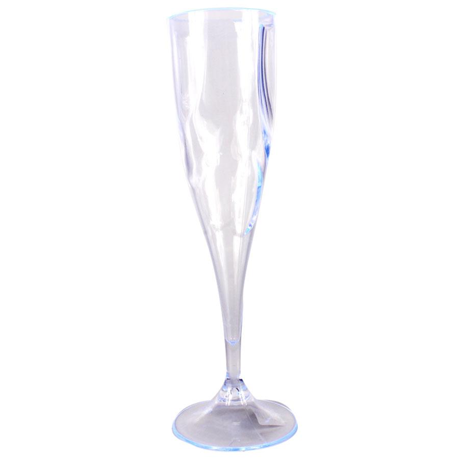 Taça Acrílica Champagne 200Ml Cristal
