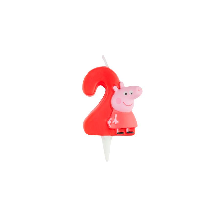 Vela 3D Peppa Nº2
