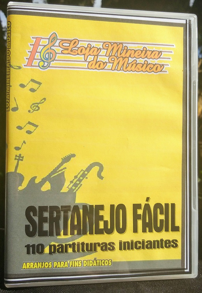 110 Partituras Sertanejo e Forró para Teclado (Ultimas unidades a venda)