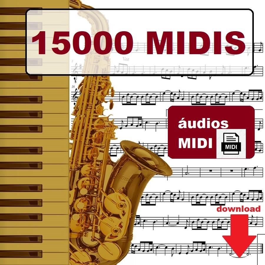 15000 Musicas Midi Teclado Midis Playbacks Karaoke