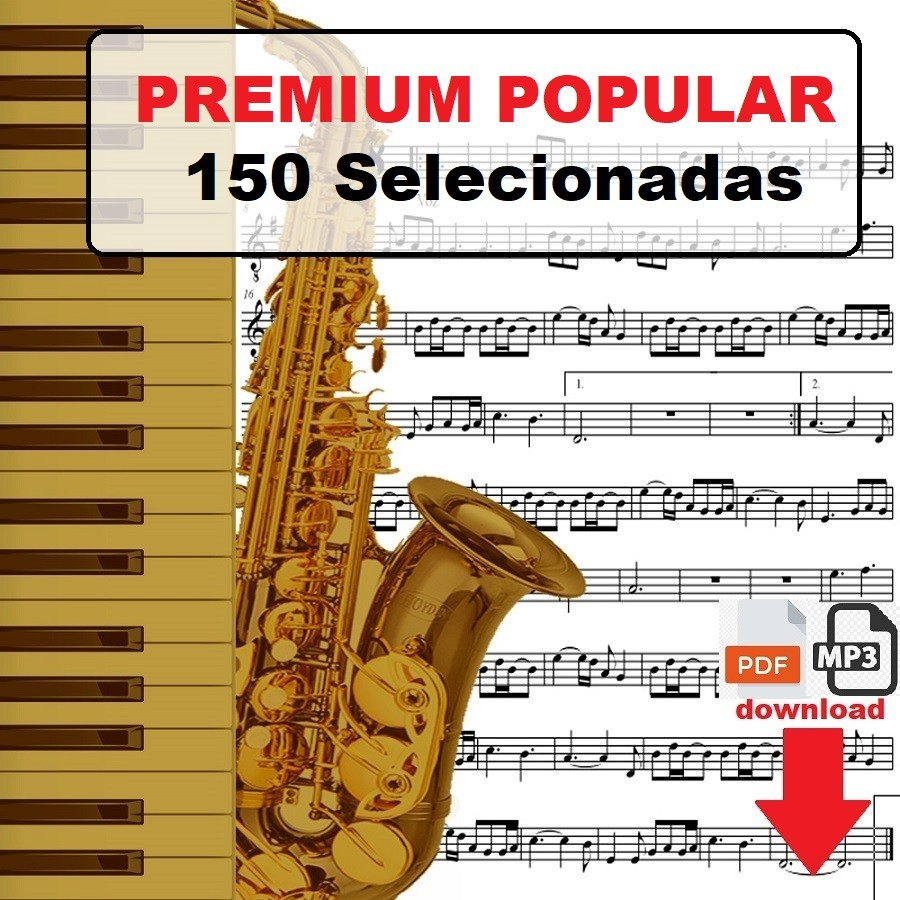 150 Partituras MPB Premium com Playbacks