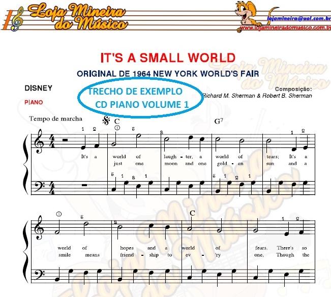 Partituras para Piano Nível Iniciante Loja Mineira do Musico