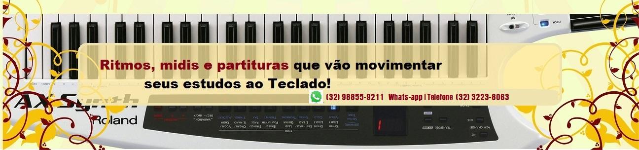 coleções para teclado e whats-app da loja mineira do musico tecladista