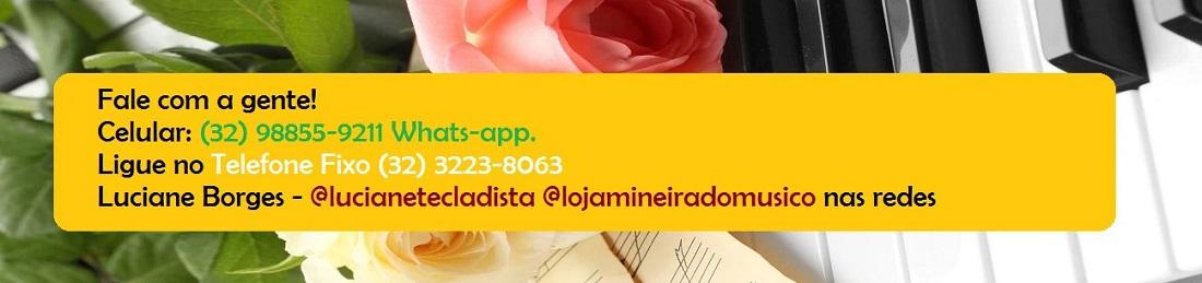 número whats-app loja mineira do musico telefone