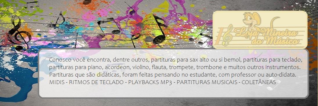 Cadastre-se e seja avisado de novas partituras midis ritmos