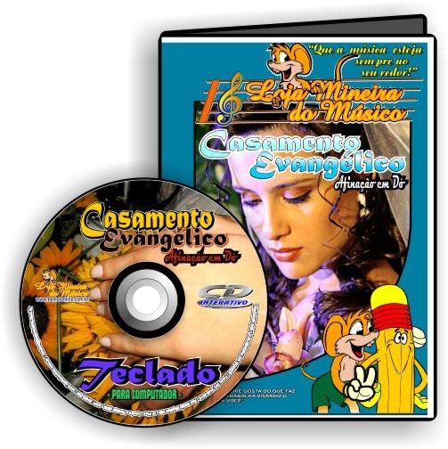 Teclado Partituras para Casamento Evangélico e Playbacks Casamento Gospel (atende também Violino e Flauta)
