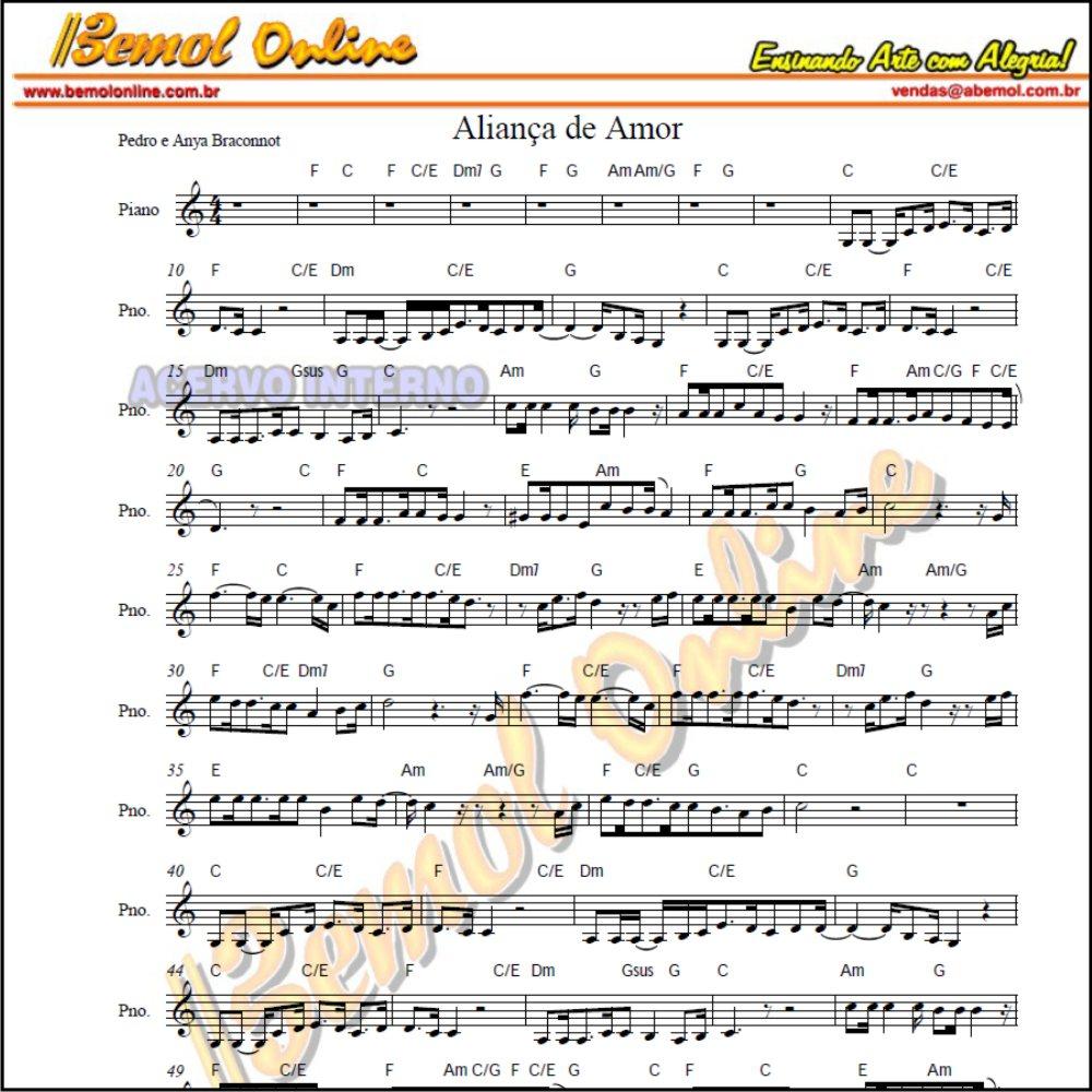 Teclado Partituras para Casamento Evangélico e Playbacks Casamento Gospel (Compatível também Violino e Flauta)