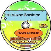 120 Músicas Brasileiras Partituras com Midis e Playbacks Loja Mineira do Músico Envio Imediato | Partituras de MPB para Imprimir ou Partituras Já Impressas | Acervo de Partituras Digitais MPB