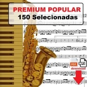 150 Partituras Populares Premium com Playbacks