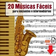 20 Partituras Iniciante com Playbacks Fáceis