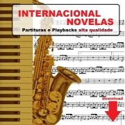 50 Partituras Internacionais com Playbacks Internacionais Novelas