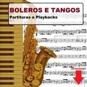50 Valsas Tangos Boleros Partituras Midis e Playbacks
