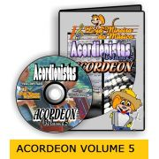 Partituras para Acordeon (Volume 5) Clave de Sol e de F� com Midi MP3